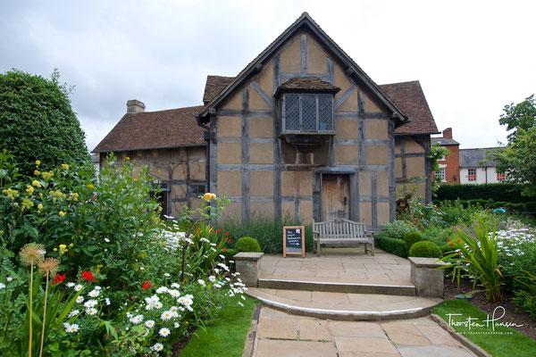 Shakespeares Geburtshaus in Stratford upon Avon
