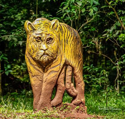 Der Periyar Nationalpark wurde erst 2012 von der UNDP als bestes Tiger-Reservat weltweit ausgezeichnet.