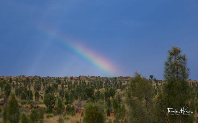 Wetterstimmungen am Uluru