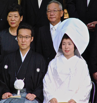 Traditionelle Shinto Hochzeit