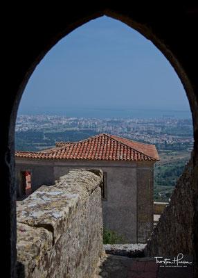 Blick von der Burg von Palmela