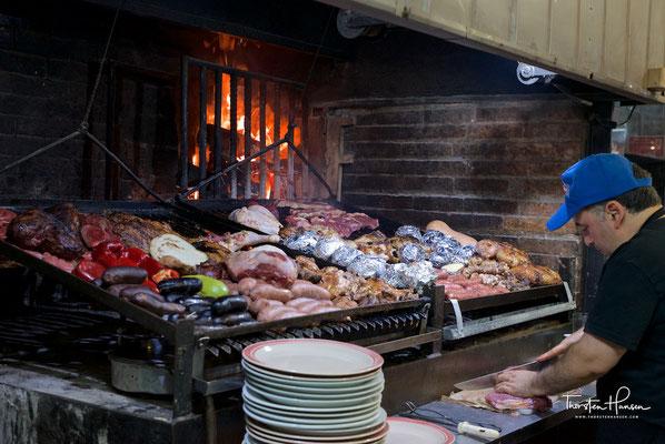 Asado im Mercado del Puerto