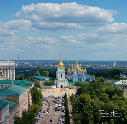 Michaelskathedrale und St. Michaelskloster in Kiew