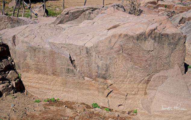 Petroglyphen am Rio Fuerte