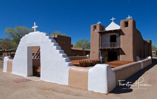 San-Geronimo-Kapelle im Taos Pueblo