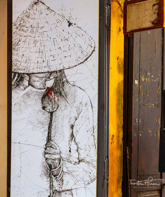 Vietnamesische Motive und Kunst in Hoi An