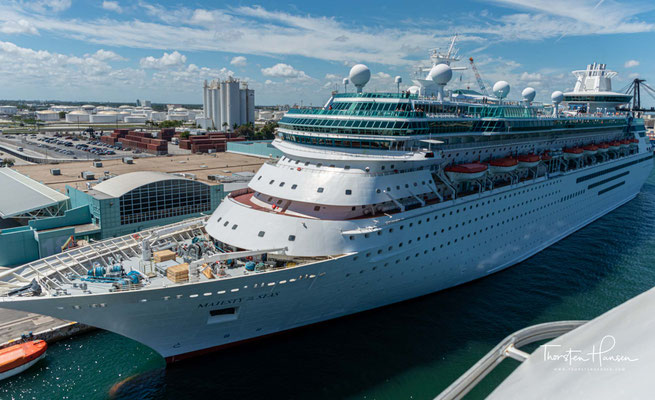 Die Majesty of the Seas ist ein Kreuzfahrtschiff der Reederei Royal Caribbean International. Sie gehört zur Sovereign-Klasse und führt die Flagge der Bahamas.