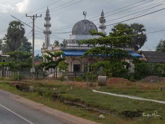 Moschee zwischen Kep und Kampot