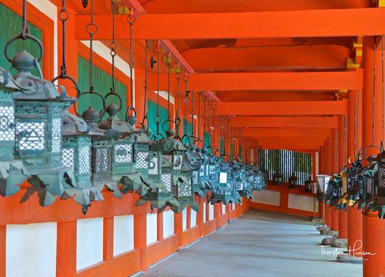 Kasuga-Taisha Schrein in Nara