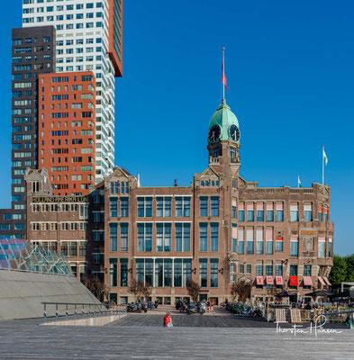 Das Gebäude stammt aus den Jahren 1901 bis 1917, als der Neubau eine Unterkunft für Amerika-Emigranten ablöste.