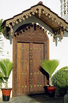 Tor im arabischen Stil