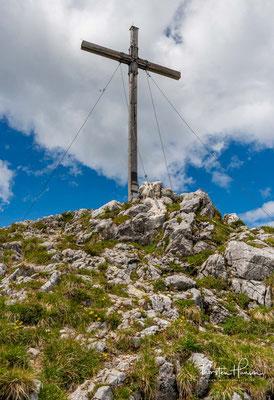 Gipfelglück auf 1801 m Höhe