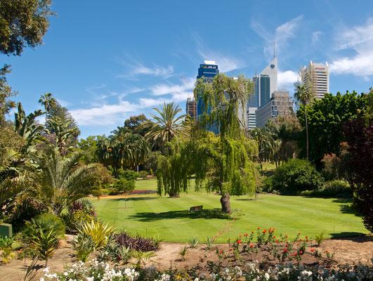 Downtown von Perth