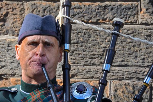 Dudelsackspieler in Edinburgh