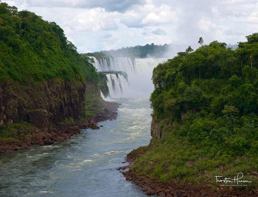 Die argentinische Seite der Iguazu Wasserfälle