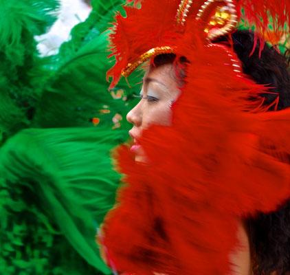 Japanisch-brasilianischer Karneval in Asakusa in Tokio