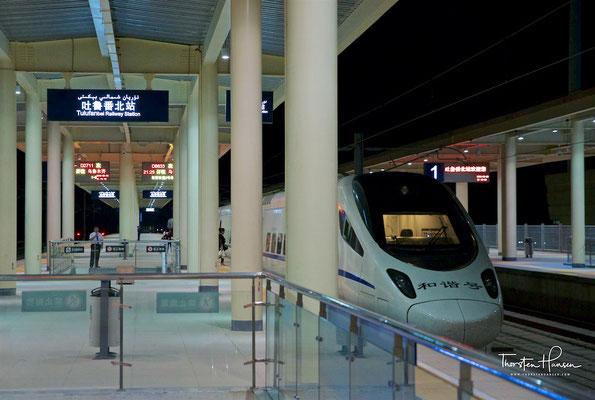 Bahnhof in Urumqi