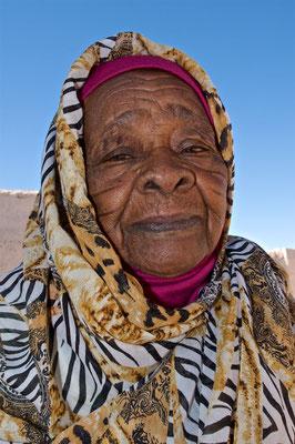 Frau in El Kurru