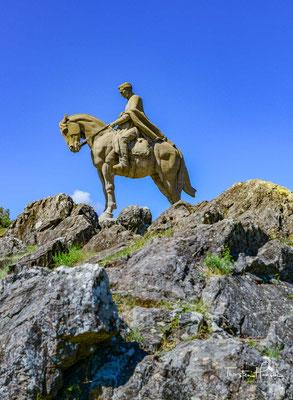 In Minas auf dem Cerro Artigas steht die größte Pferdestatue der Welt in Erinnerung an General José Gervasio Artigas.