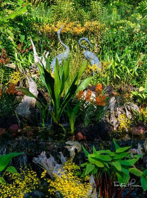 Er ist 74 Hektar groß und ist mit jährlich 4,2 Millionen Besucher der meistbesuchte botanische Garten der Welt.