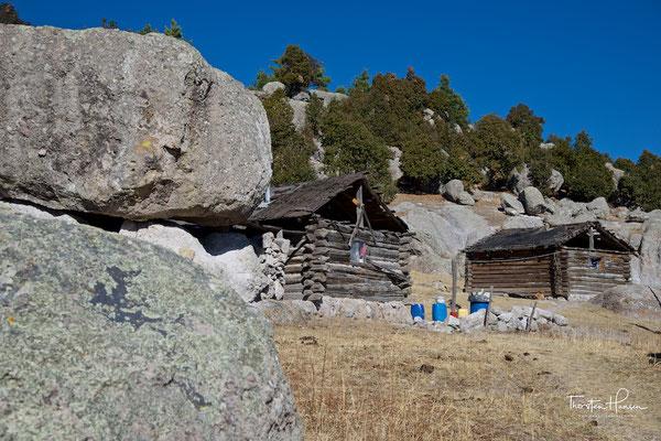 Dorf der Rarámuri Indianer in Creel