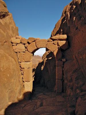 Tor des Glaubens auf dem Berg Sinai