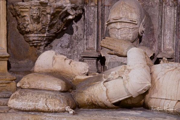 Kloster Santa Cruz in Coimbra mit Grabmal von Alfons I.