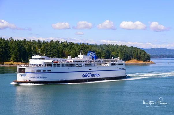 Überfahrt von Vancouver nach Vancouver Island