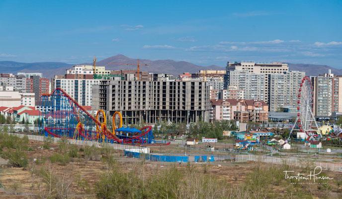 Panorama von Ulaanbaatar