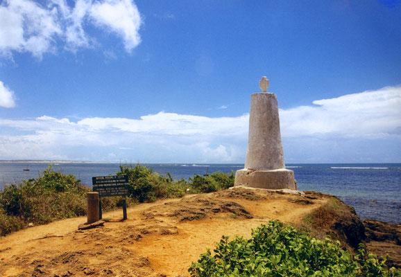 Vasco da Gama Denkmal in Malindi