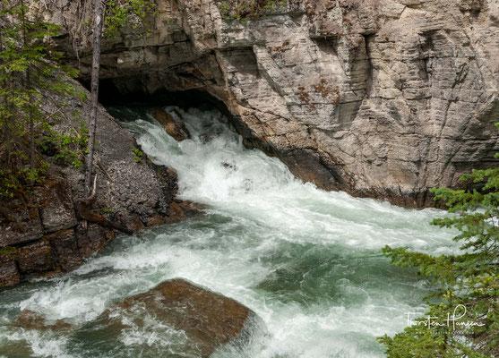 Der Maligne River ist ein rechter Nebenfluss des Athabasca River in der kanadischen Provinz Alberta.