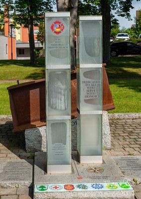 9/11 Denkmal in Oberviechtach
