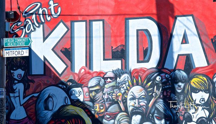 Streetart in St. Kilda