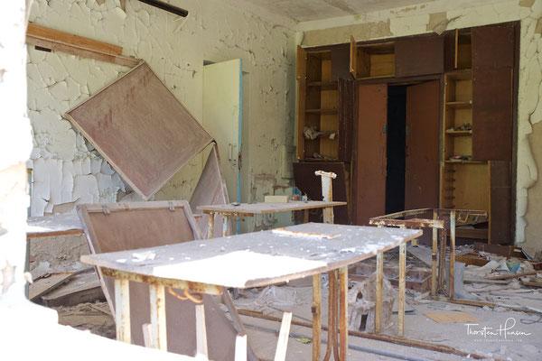 Um einen hohen Bildungsstandard zu gewährleisten, wurden Lehrer aus der Ukraine und der Sowjetunion nach Pripjat beordert.