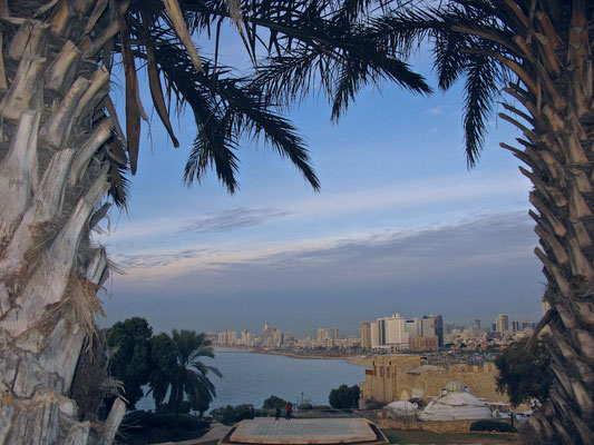 Tel Aviv - Jaffa Blick von Jaffa auf Tel Aviv