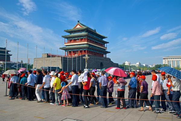 Zhengyangmen - das alte Stadttor von Peking