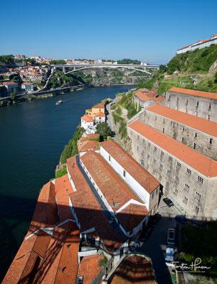 Blick von der Ponte Dom Luís I