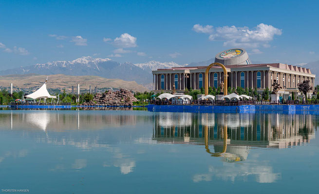 Nationalmuseum von Tajikistan in Duschanbe