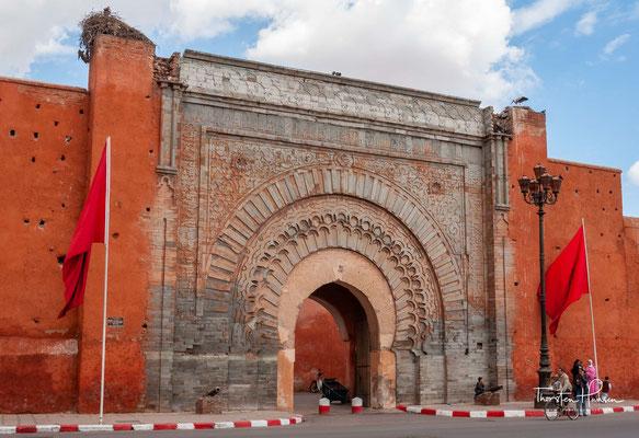 Das Bab Agnaou (arabisch باب اكناو) ist der bedeutendste historische Torbau von Marrakesch und ein wichtiges Zeugnis der Maurischen Architektur.