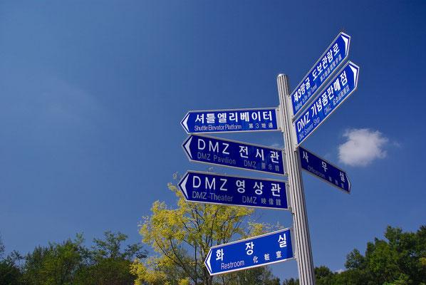 DMZ Wegweiser