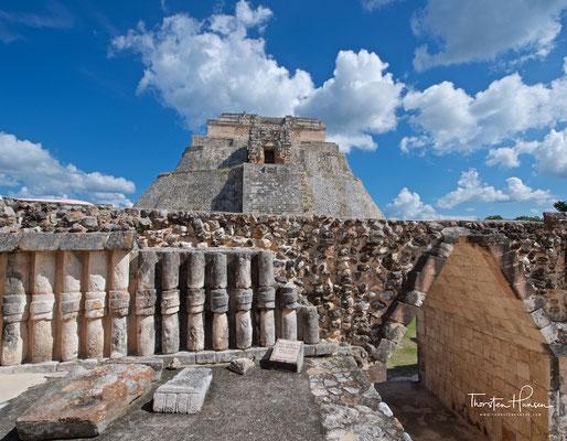 Die präkolumbische Ruinenstadt Uxmal
