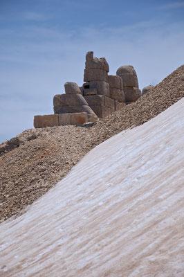 Ostterrasse Nemrut Dağı (Adıyaman) der Berg Nimrod