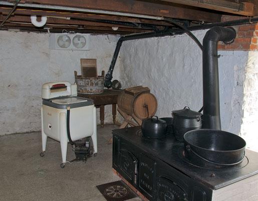 Wäscheraum im Amish Village in Ronks