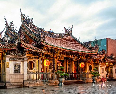 Die Hauptgottheit des Tempels ist Kuan Yin.