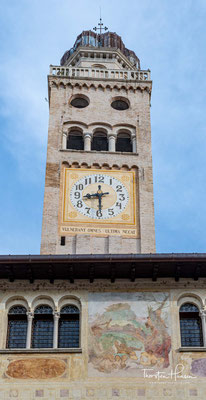 Zusammen mit Valdobbiadene bildet es die Heimat des Prosecco und beherbergt die traditionsreiche Weinbauschule von Conegliano.