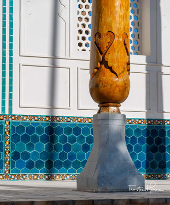 Unter Bezug auf die Schutzkräfte, die ihm von seinem Lehrer Baba Muhammed Sammasi verliehen worden seien, wurde er in Buchara laut Nur ad-Din Abdur Rahman Dschami schon zu Lebzeiten Khwaja Bala-gardan (Abwender des Unheils) genannt.