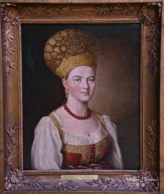 Bildnis einer Unbekannten in der Tretjakow Galerie