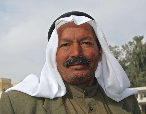 Mann in Raqqa