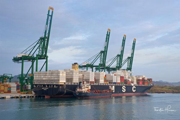 Der Hafen von Balboa / Panama City