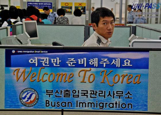 Willkommen in Südkorea